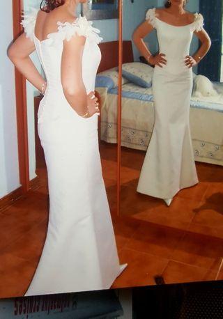 Vestido de novia. Talla 38.