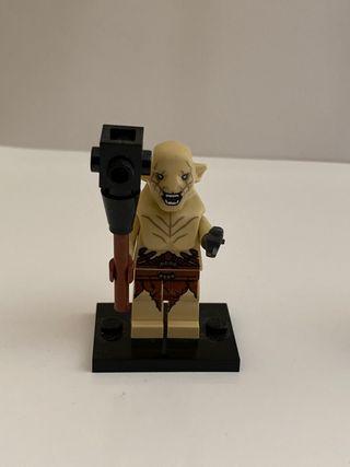 Lego minifigura Azog Orco Moría señor anillos