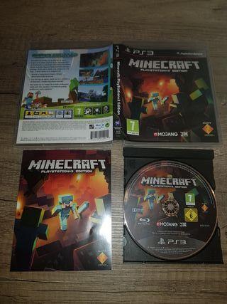 PS3 Minecraft pal esp completo