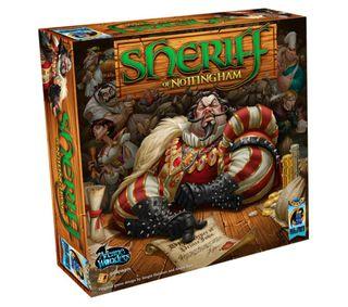 juego, juegos de mesa sheriff of nottingham
