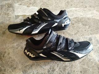 Zapatillas ciclismo Northwave Fighter + calas
