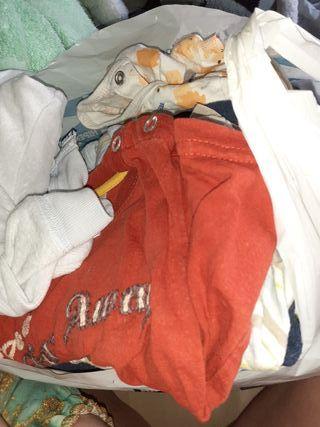 lote ropa de bebé 6 - 9 meses