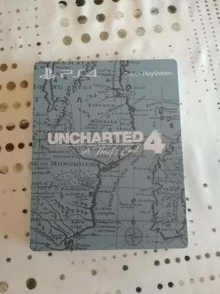 Steelbook. Caja coleccionista Uncharted 4