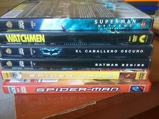 6 Películas de Super Heroes