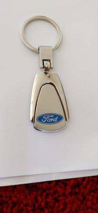 Llavero Ford aleación de zinc inoxidable