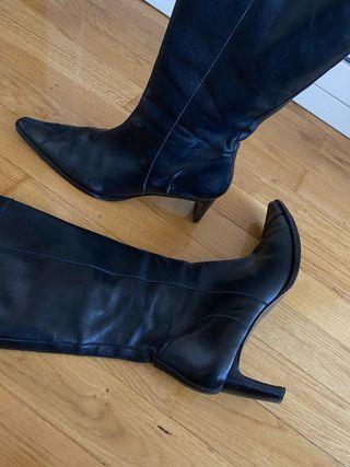 Botas altas negras Lottusse