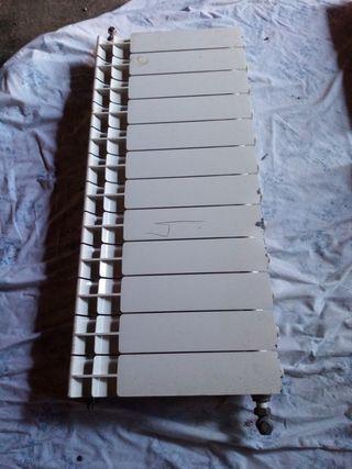 4 radiadores de aluminio