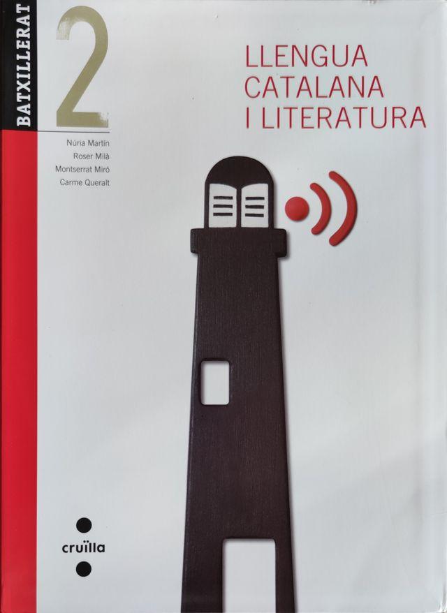 Libro Llengua Catalana i Literatura 2 Batxillerato