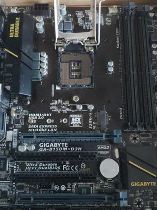 Placa base Gigabyte 1151
