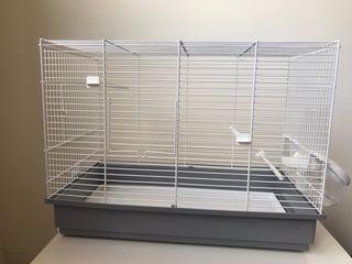 Jaula para pájaros rectangular