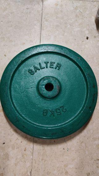 disco salter 25 kg