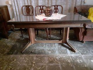 Mesa madera comedor antigüedad