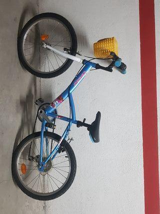 Bicicleta para niños de 20 pulgadas 6-9 años