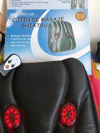 Cojín masajeador