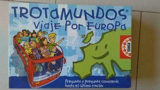 Juego educativo Trotamundos viaje por Europa