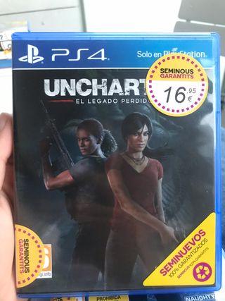 """Uncharted 5 """"El legado perdido"""""""