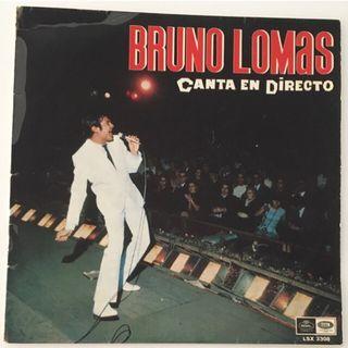 BRUNO LOMAS Canta en directo(1967) Disco Vinilo Lp