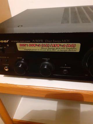 amplificador pioneer A-307R directo energy mos