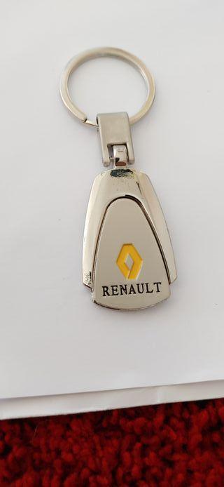 Llavero Renault aleación de zinc inoxidable