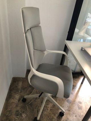 Silla oficina, blanco
