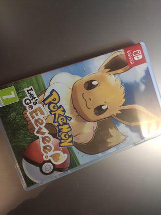 Pokémon Lets Go Eevee Switch