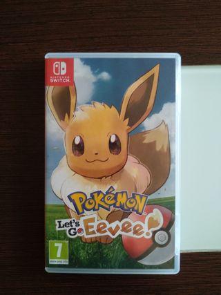 Pokémon Let's go Eevee - Switch