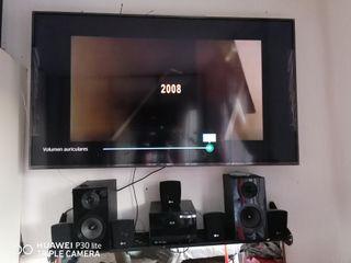 "smart TV 55 "" + home cinema +peana + soporte flex"