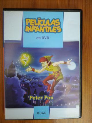 Película Infantil en DVD: Peter Pan