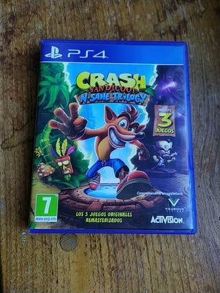 Juego Crash Bandicoot Remaster ps4
