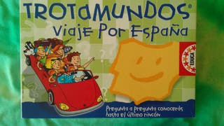 Juego educativo: Trotamundos viaje por España