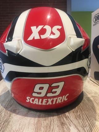 Casco Shoei replica Marc Márquez Scalextric