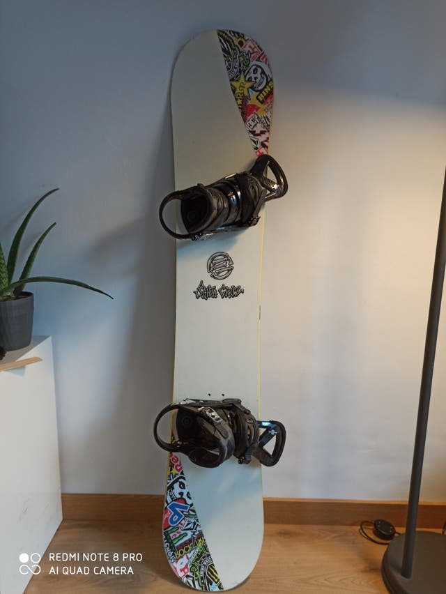 tabla de Snowboard Santa Cruz