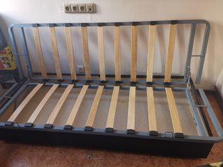 estructura sofá cama click