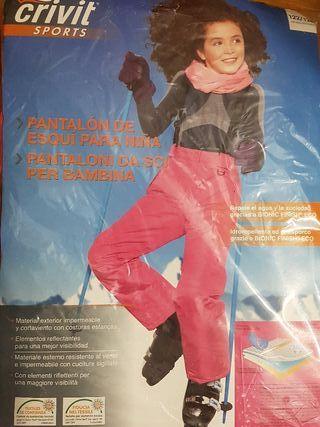 pantalones de esquí niña