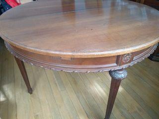 Mesa comedor hecha a mano