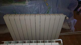 radiadores calefacción de agua