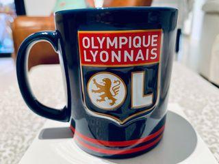 """""""OLYMPIQUE LYONNAIS"""" Taza / Mug colección fútbol."""