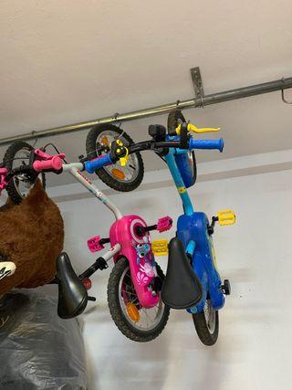 Bicicleta infantil para niña y niño