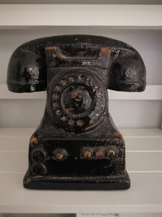 Vintage inspired decorative phone