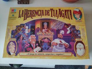 """juego de mesa """"La herencia de la tía agata"""""""