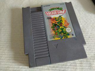 Turtles 2. Teenage Mutant Hero Nintendo NES Nese.