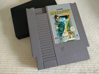 Metal Gear Cartucho Nintendo NES Nese Ness.