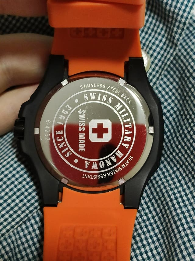 Reloj Swiss Military hanowa