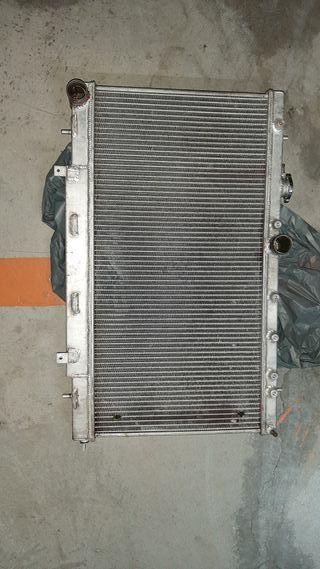 radiador aluminio subaru
