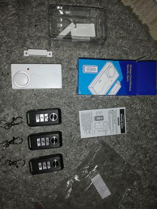 Alarma Wireless con 3 mandos PRO