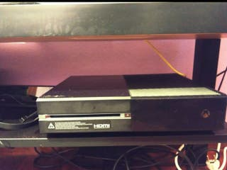 xbox one +9 juegos físicos+ kinect+ 1 mando