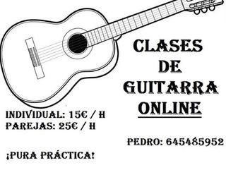 Clases Guitarra Online Skype