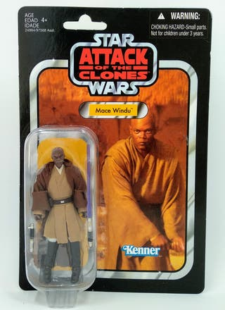 Star Wars Mace Windu Vintage Collection