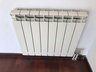 Radiadores calefacción agua