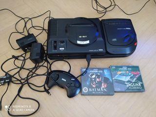 Sega mega cd 2con megadrive